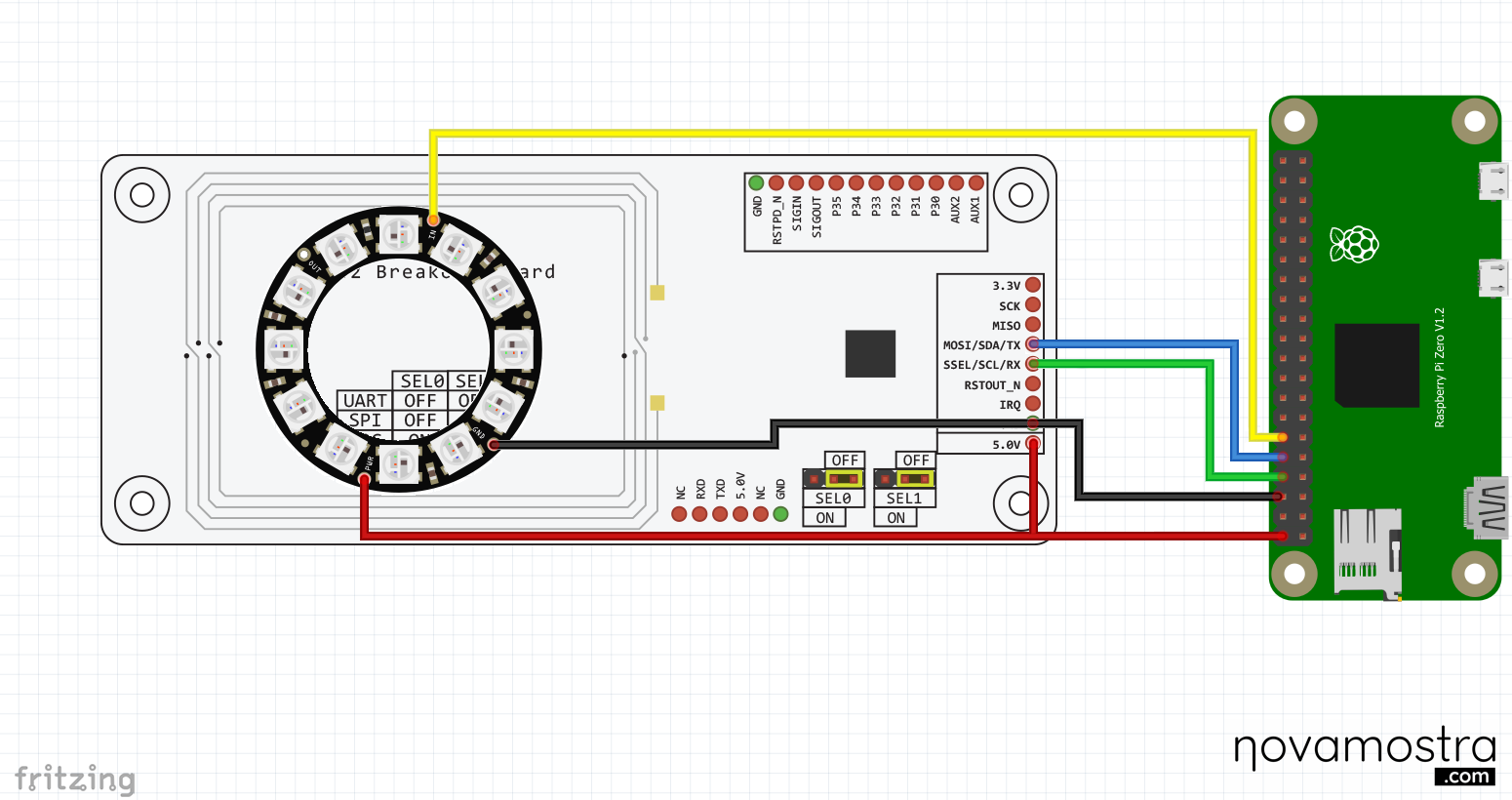 ecoPrinter schematic